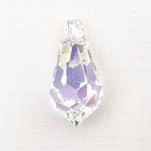 Swarovski Teardrop 6000 15 x 7.5mm Crystal AB - 1